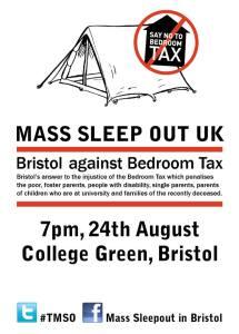 Mass Sleepout leaflet